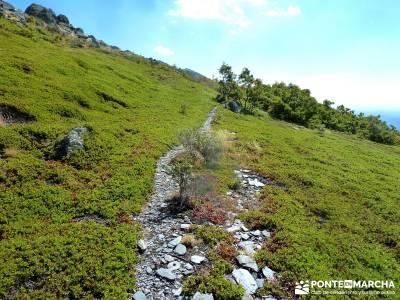 Ocejón - Sierra de Ayllón; viajes diciembre pedriza rutas viajes julio viajes de trekking